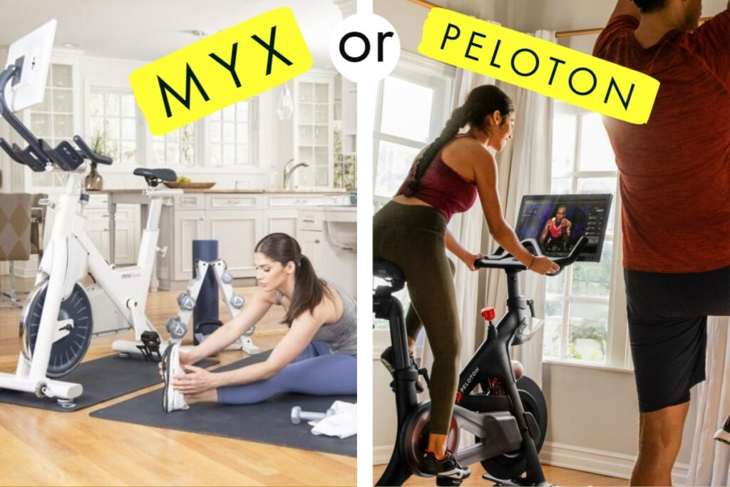 choosing if myx fitness or peloton is better