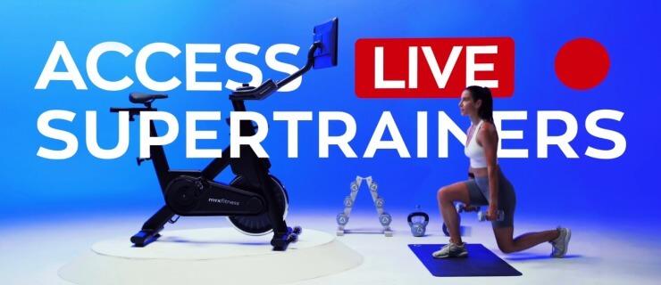 MYX II BODi live workouts